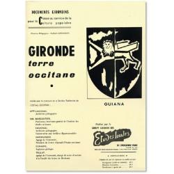 Gironde terre occitane