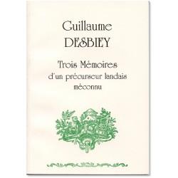 Guillaume Desbiey: Trois...