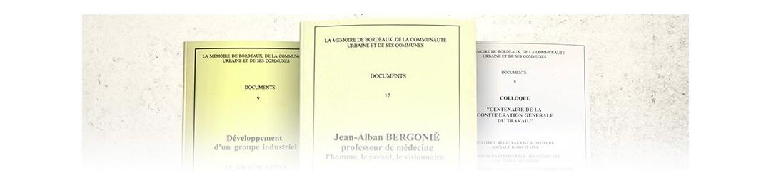 Documents de la Mémoire