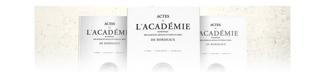 Actes de l'Académie